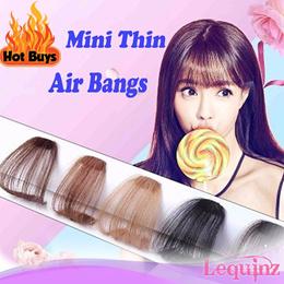 Hair Clip Extensions Air Bangs Side Bangs Fringe Accessories hairclips
