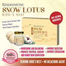 Kinohimitsu Birds Nest with Snow Lotus and Honey 6s *Healthy Ageing/Beauty/Strengthen Immunity* NEW!