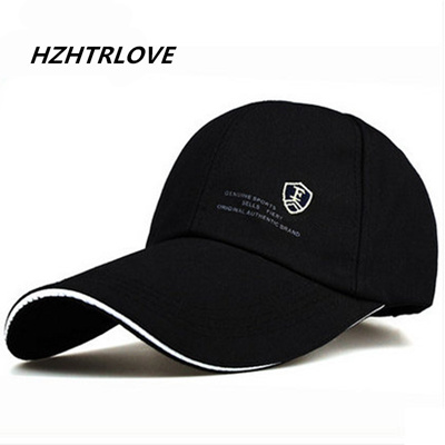 88c1887b4c High Quality Long Brim Shade Snapback Sports Cap Mens Hat For Fish Outdoor  Hat Baseball Cap Sun Dad