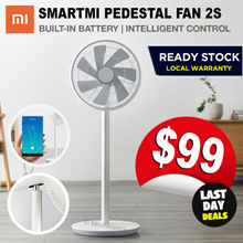 [MAY SPECIAL] ★ Xiaomi Smartmi Fan with Built-in Battery Smart APP Controls and Oscillation Mode
