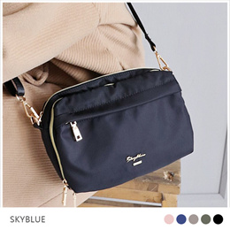 3ca115c936 COUPON  Skyblue-Water Resistant Nylon PU Shoulder Bags Women Ladies Girls  Bags
