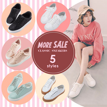 ♥JUNE SALE♥ Gracegift-Classic Sneakers/School/Campus/Women/Ladies/Girls Shoes/Taiwan Fashion