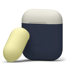 elago Airpods Duo Case - Two-toned design/ Protects Airpods from scratches and shocks