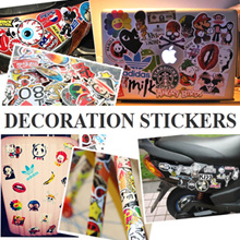 A4 size Decoration PVC Sticker for phone/laptop/tablet/car/helmets/baggage/scrapbook/luggage Waterpr