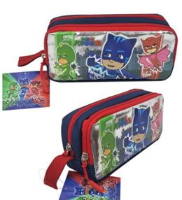 (restock Jul) Christmas gift - Pencil Case /children pencil box / Double Zipper pencil case