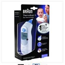 Brown Thermometer / Braun ThermoScan 5 Ear Thermometer IRT6500US