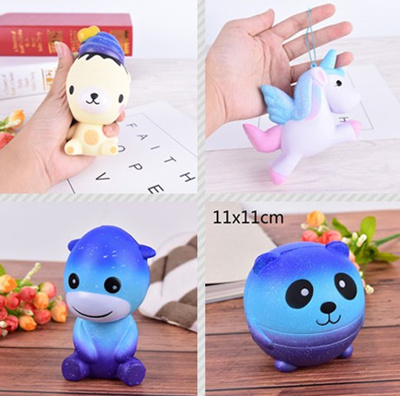 Squishy Toys Greece : Qoo10 - 13cm Bear Cream Scented Squishy Slow Rising Squeeze Kid Toy Phone Char... : Toys