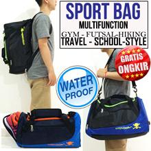 BEST SELLER ★ ★ ★ free ongkir - SPORT BAG MULTIFUNCTION|WATER PROOF-EXTRA LOAD|8 COLORS|penawaran hanya bulan ini