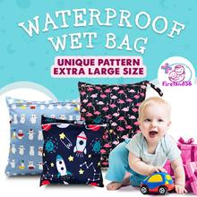 ACC1: Restock 03/12/2019 Waterproof diaper Wet Bag/swimming bag/diaper/zipper/gym/wet bag