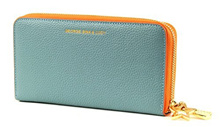 Direct from Germany -  GEORGE GINA &amp  LUCY, ladies purses, exchanges, wallets, purses, leather, blue, 19 x 10 x 2.5 c...