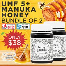 FREE Glass Bottle! ★ UMF5+ Manuka Honey ★ 1800+ Good Reviews! ★ Expire 2021 ★ Lic 1069 ★