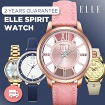 100% Authentic ELLE SPIRIT Watch_21 Styles_2years guarantee_Branded watch_Women watch_jam tangan