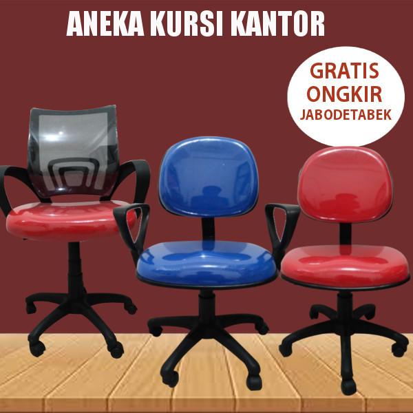 Aneka Kursi kantor / kerja / Staf / Sekretaris / Aneka Model / Type Deals for only Rp673.500 instead of Rp673.500