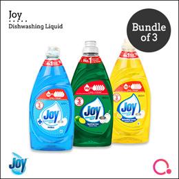 [PnG] 【BUNDLE OF 3 FOR $15】JOY Dishwashing Liquid 800ml! FIVE TIMES more powerful