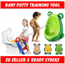 Toddler Toilet Potty Training Seat Step Ladder- Baby Boy Urinal Pee Trainer Kids- Children Train Kit