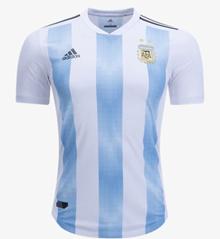 HOT - POPULAR Argentina 2018 World Cup Home Mens Football Jersey
