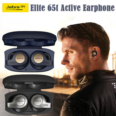 8b365b6e052 Jabra Elite Active 65t Alexa Enabled True Wireless Sports Earbuds with  Charging Case
