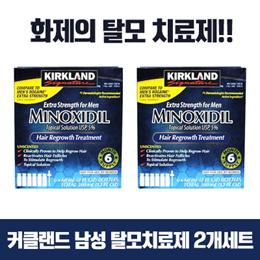 재고확보 최저가! 탈모인에게 희망을! 남성을 위한 효과좋은 커클랜드 미녹시딜 5% 60ml 6ea 1BOX 1+1 무료배송 Kirkland Minoxidil