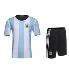 Argentina Football Jersey T-Shirt and Short US Size maillot de foot