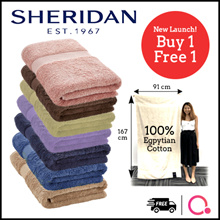 【BUY 1 FREE 1】70% OFF Luxury KING size 100% Egyptian Cotton towel | 91cm x 167cm long