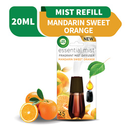 Air Wick Mandarin Sweet Orange Essential Mist Fragrance Diffuser Refill