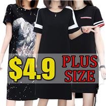 【31/7】600+ style S-7XL NEW PLUS SIZE FASHION LADY DRESS OL work dress blouse TOP