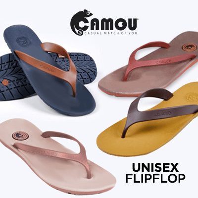 1f2adde5c8ef0c BUY 2 FREE SHIPP ✪ CAMOU Sandals ✪ Flipflop Unisex Flipflop  Size 36-43   Good Quality