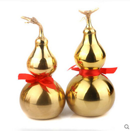 Opening of pure copper gourd ornaments Feng Shui Bagua copper gourd ornaments-BJHL_Yi Chau