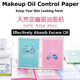 Makeup Oil Control Paper /Clearance Price Now /Cleansing Oil ready makeup/Charcoal Oil Control Paper