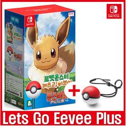 [Best Deal Only Today]  Lets Go Eevee + Pokeball Plus Bundle