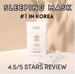 ❤ 2019 DEC #1 SLEEPING PACK IN KOREA ❤ DALBA WATERFULL FANTASTIC SLEEPING PACK ❤