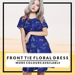23/11/18 updates★Buy 3 Free Qxpress★FLORAL★Korean Fashion Series/★Womenswear★Kstyle★Dress
