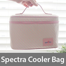 [spectra] Spectra cooler bag/ Sepctra Korea Cooler Refrigerated baby bottle bag with ice pack