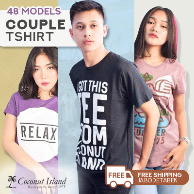 [COCONUT ISLAND] MEN WOMEN TSHIRT Deals for only Rp129.950 instead of Rp129.950