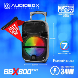 PORTABLE BOOMBOX   POWERFUL AND BASSY   BBX SERIES feat. KBX 900   1 Year Warranty  