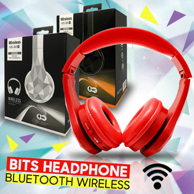 [NEW BITS] Headphone Bluetooth Wireless MS-B8 A MP3 Wired Slot MicroSD AUX Earphone | Kualitas OKE suara MANTABS Deals for only Rp179.000 instead of Rp179.000