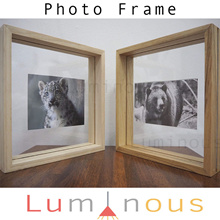 Floating Solid Timber Photo Frames