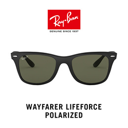 Ray-Ban Wayfarer Liteforce Polarized - RB4195F 601S9A - Sunglasses