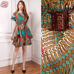 Termurah Dress Midi Batik Numa Short Dress Wanita