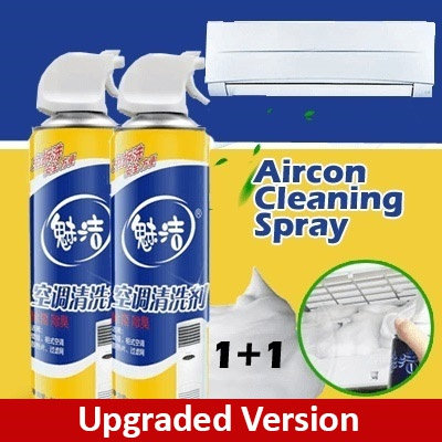 😍☆★【SG INSTOCK 】1+1 NEW Aircon Cleaner /Anti Bacterial Toilet Cleanser★