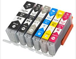 Compatible CANON PGI-770XL CLI-771XL Ink Cartridges for PIXMA TS5070 TS8070 MG5770 MG7770