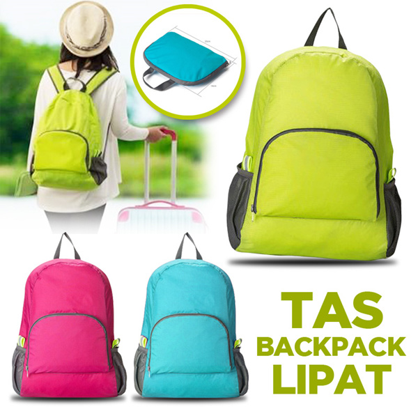 Tas Ransel Lipat A315A Deals for only Rp58.000 instead of Rp58.000