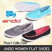[NEW UPDATE] ANDO Women Flat Shoes [FREE SHIPPING KE SELURUH INDONESIA]
