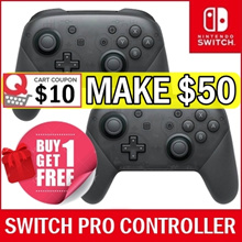 (Buy 1 Get Free 1) Nintendo Switch Pro Controller Wireless Gamepad Game joystick
