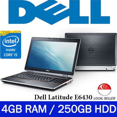 [Refurbished] Dell Latitude E6430 / Notebook - Intel i5 Core 3rd generation  / 4GB RAM / 250GB HDD / Windows 7 Pro / One Month Warranty