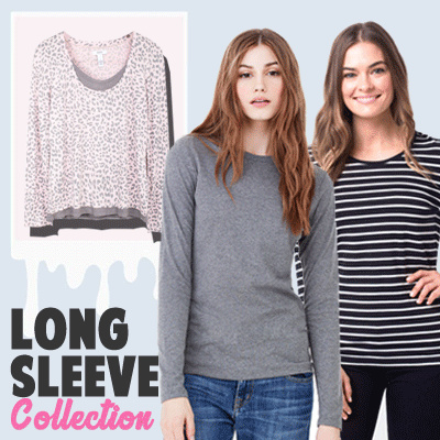 New Collection..!!! Women T-Shirt Long Sleeve/6 Color/Women Blouse/Branded Blouse Deals for only Rp35.000 instead of Rp35.000