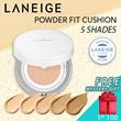 [50% OFF!] LANEIGE Powder Fit Cushion SPF50+ PA+++ *5 Shades* 10g