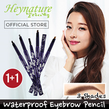 1+1 !! [★ Heynature Official ★] Made in KOREA !! Easy Draw Waterproof Eyebrow Pencils ❤ 3 Colours