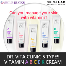 [SKIN n LAB] Dr. Vita Clinic 5 Types Vitamin Cream 30ml / A/B/C/E/K Cream