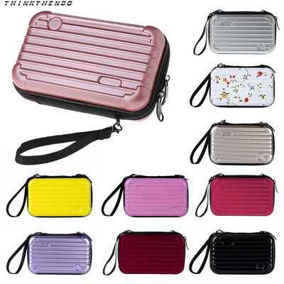 b9ddc0f4c4ac online THINKTHENDO Fashion Women Mini Luggage Makeup Case Lady Girls Female  Cosmetic Pouch Bag Toile